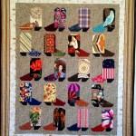 cowboy boot large quilt