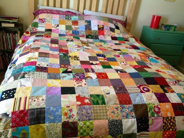scrappy pioneer quilt