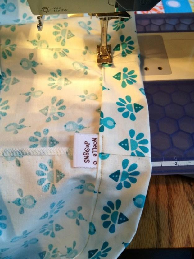 sew a sleeve for elastic, skirt tutorial elastic waistband