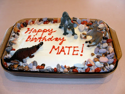 critters from down under cake
