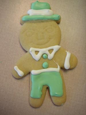 leprechaun cookie