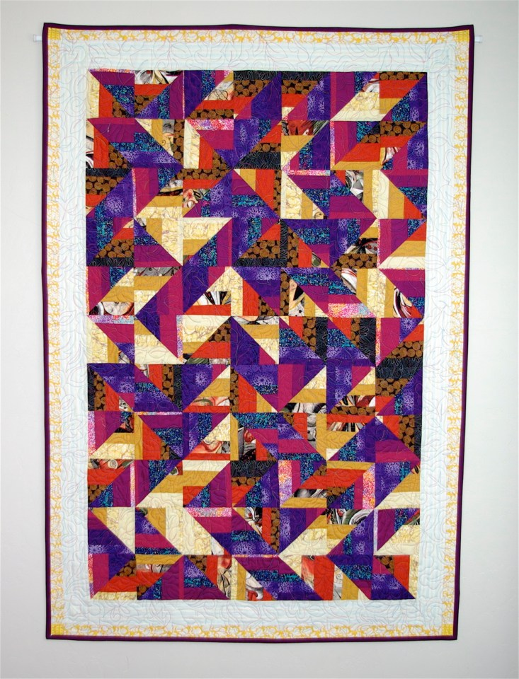 maple leaf pattern quilt