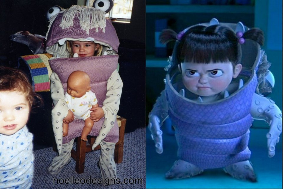 Boo from Monster's Inc.