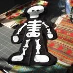 felt skeleton