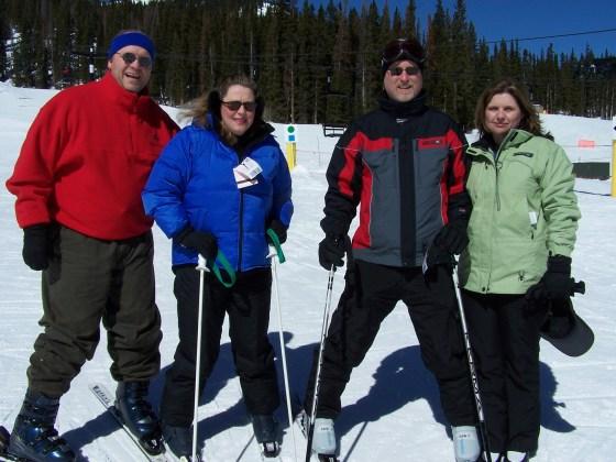 Skiing with the Yardleys