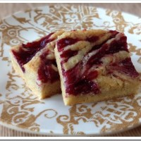 Twelve Days of Christmas Cookies: Raspberry Blondies