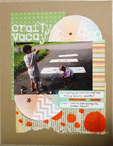 crafty vacay || noexcusescrapbooking.com