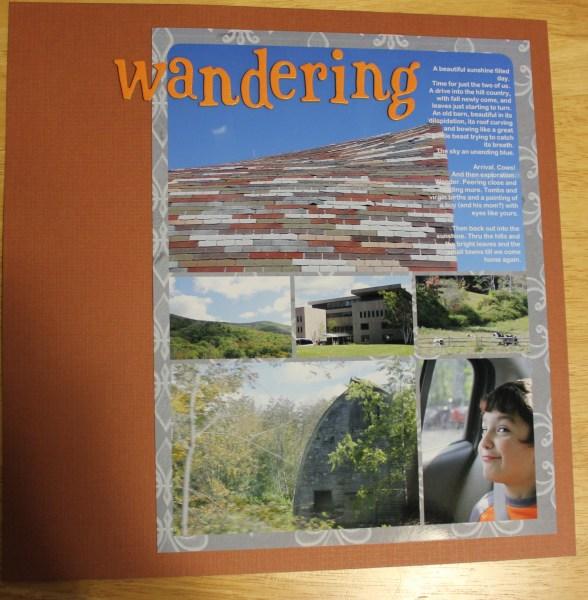 wandering || noexcusescrapbooking.com