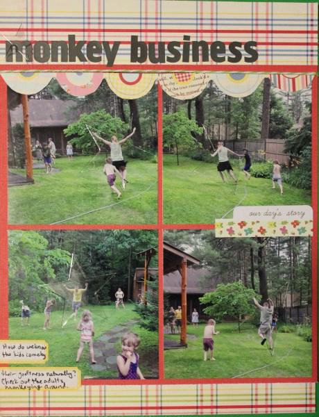monkey business ||noexcusescrapbooking.com