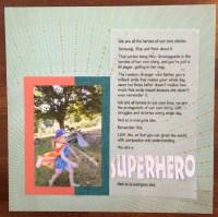 LOAD1 superhero || noexcusescrapbooking.com