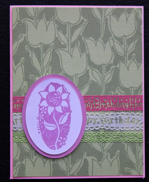 oval flower || noexcusescrapbooking.co