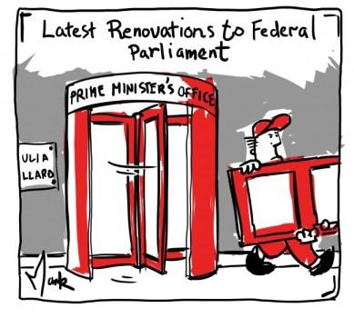 Cartoon by Mark Sehler
