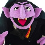 Call in the expert. Count von Count from Sesame Street.
