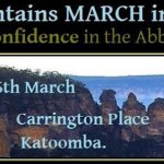 Moving Blue Mountains for #MarchInMarch: @bluntshovels reports