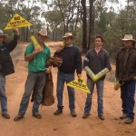Farmers unite behind the environment on the #leardblockade: @_stephwilliam_ reports