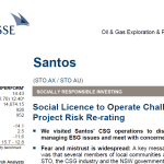 Credit-Suisse downgrade of @SantosLtd #Pilliga #CSG: the full report