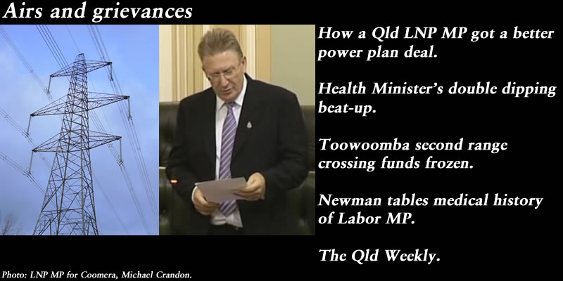 Airs and grievances – The Qld Weekly #qldpol: @Qldaah