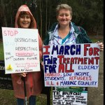 Central Coast 2014 March against Abbott Government: Ed @CentralCoast14 reports #MarchInAugust