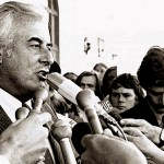 Gough Whitlam (1916-2014).