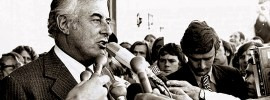 The man who dismissed dismissal: @burgewords #CreatingWaves on #GoughWhitlam