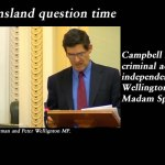 Volatile Queensland question time – Newman defies Madam Speaker: @Qldaah, #qldpol