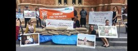 Anti fracking protest targets Buru Energy in Perth: Rick Hoyle – Mills @RickHM reports