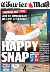 10/01/15 The Courier Mail  - Happy Snap