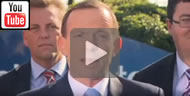 "Tony Abbott declares he's ""far more of a Queenslander than Kevin Rudd will ever be."""