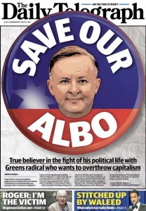 The Daily Telegraph: Save Our Albo.