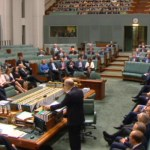 Scott Morrison delivering 2016 Budget speech