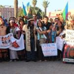 Marrakech first ever #Climate march reports @takvera attending #COP22