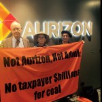 Aurizon HQ occupied by StopAdani protestors