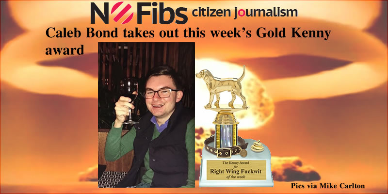 Caleb Bond takes out this week's #GoldKenny award – @Qldaah #auspol