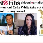 Lyle Shelton and Cella White take out this week's #GoldKenny award – @Qldaah #auspol #qldpol