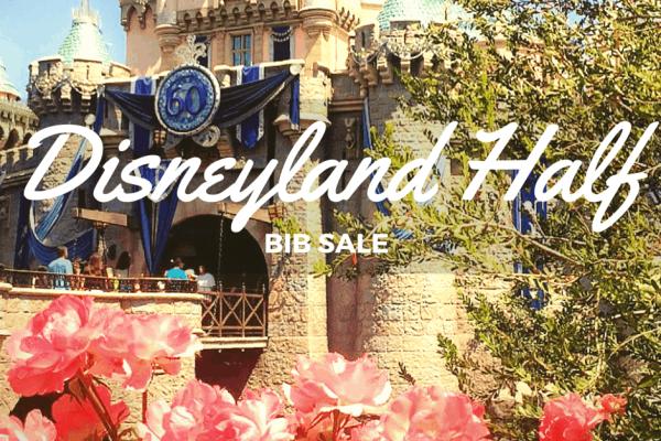 Disneyland Half bib sale GoMagicalMiles.com