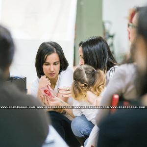 Elena López y Nohemí Hervada en las I Jornadas Continuum