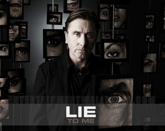 "Cartel de la serie ""Lie to me"""