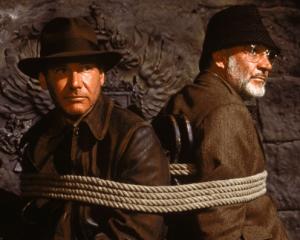Indiana y Henry Jones