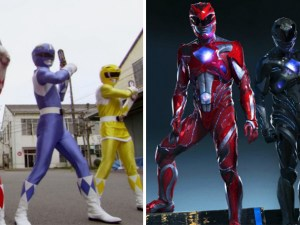 13 power rangers 1993 and 2017