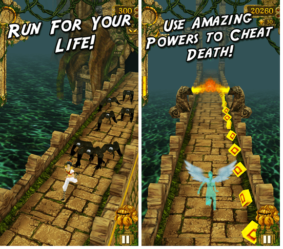 Bytes: Temple Run (Free) lands at Windows Phone store. Firmware update