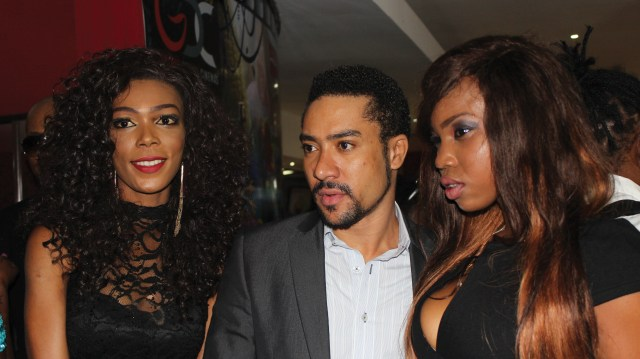 Majid Michel and guests