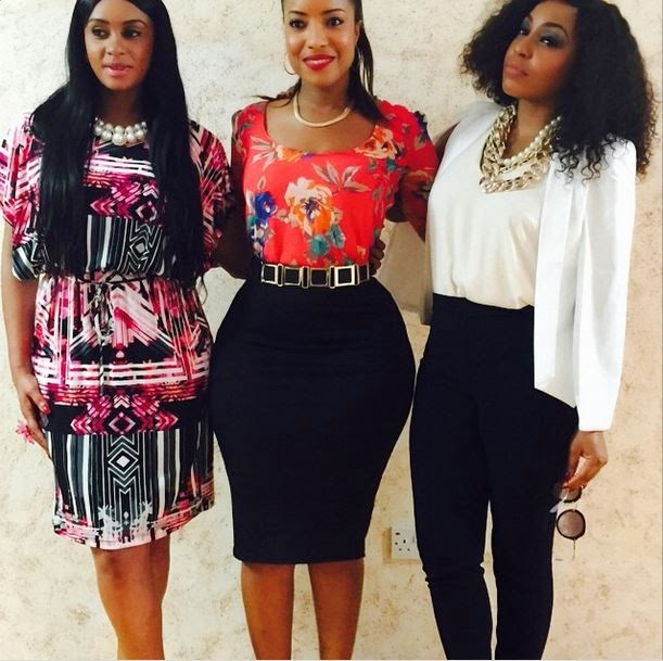 Joselyn Dumas, Memry Savanhu and Rita Dominic