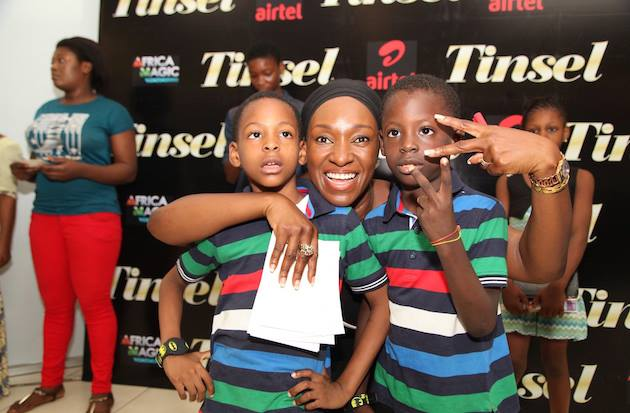 Tinsel stars meet fans in Lagos 10
