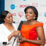 Funke Akindele wows on the Red Carpet in London, with iRoko World