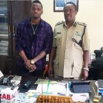 Diamond Platnumz reports to the police over traffic offence (Photos)