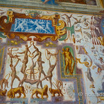 Detail from the Acrobats' Room in the Castle of Torrechiara