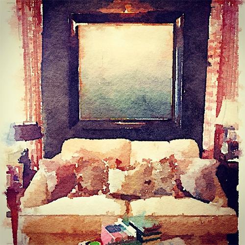 Living Room of Jen Going Interiors via Waterlogue