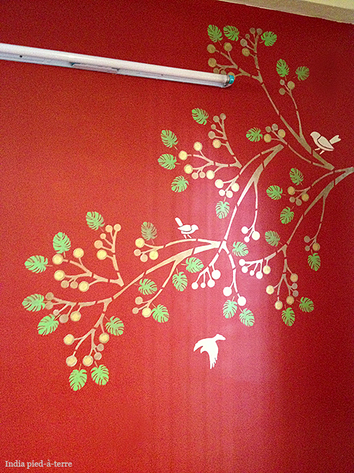 Asian Paints Wall Fashion on Wall in India
