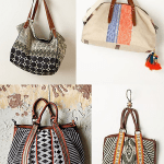 DIY Anthro-Style Stenciled Tote Bag