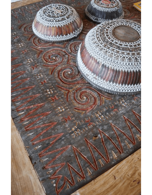 Toraja Panel as a Table
